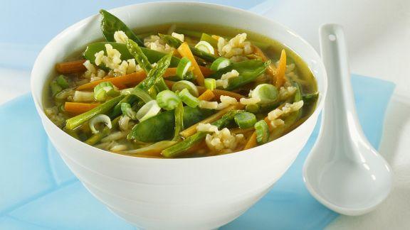 Rezept: Gemüsesuppe