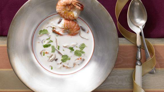 Rezept: Kokos-Zitronengras-Suppe