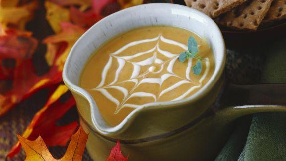 Rezept: Kürbissuppe zu Halloween