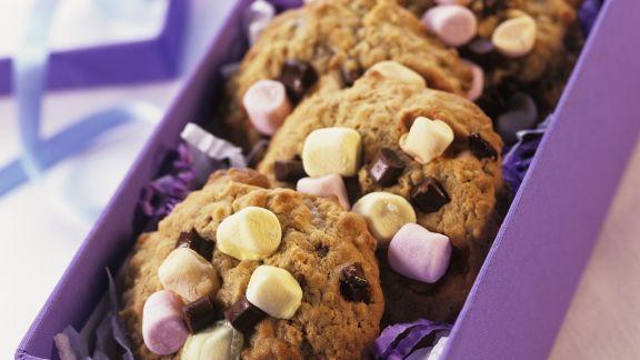 Rezept: Marshmellow-Cookies
