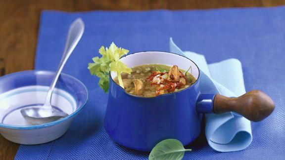 Rezept: Muschel-Gemüsesuppe