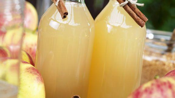 Rezept: Apfelsaft Naturtrüb