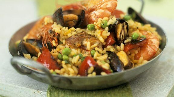 Rezept: Meeresfrüchte-Paella