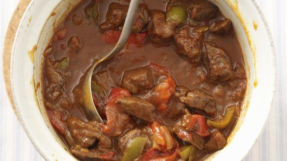 Rezept: Gulasch mit Paprika