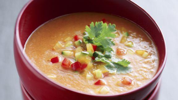Rezept: Pikante Gemüsecremesuppe