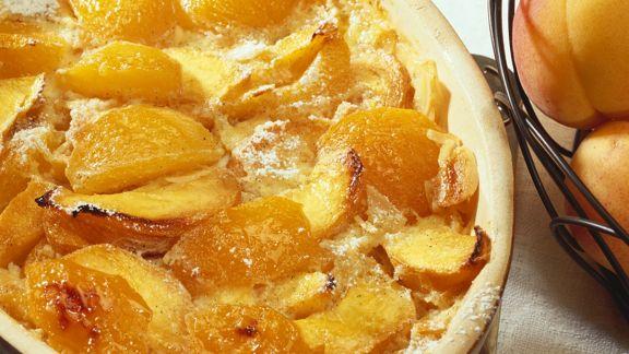 Rezept: Pfirsich-Auflauf