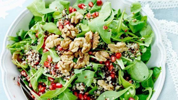 15 leckere Quinoasalate Rezepte
