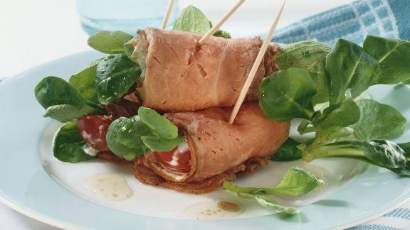 Rezept: Roastbeef-Röllchen