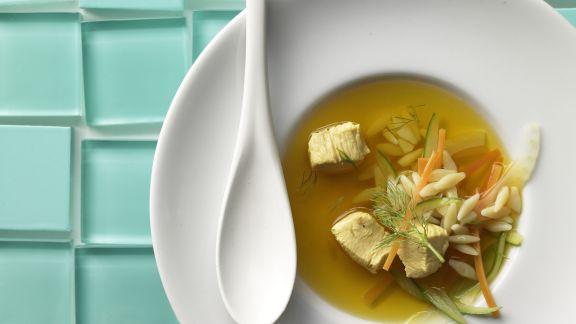 Rezept: Safran-Gemüse-Suppe
