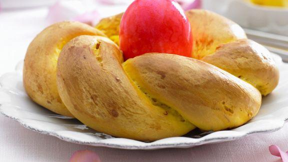Rezept: Hefezopf zu Ostern