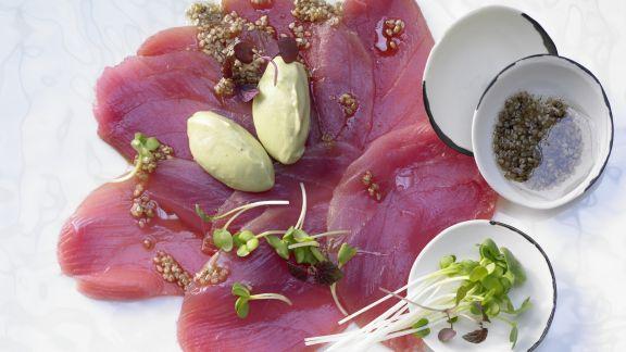 Rezept: Thunfisch-Carpaccio
