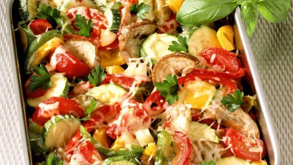 Rezept: Überbackenes Gemüse