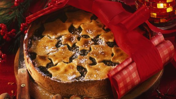 Rezept: Früchtekuchen mit Nüssen