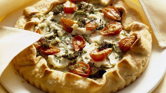 Rezept: Vegetarische Gemüse-Tarte