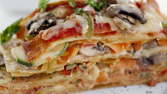 Rezept: Vegetarische Lasagne