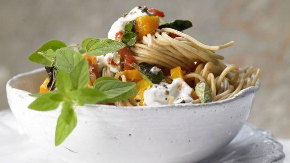 Vollkorn-Spaghetti Rezepte