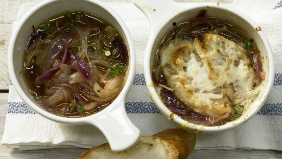 Rezept: Zwiebelsuppe