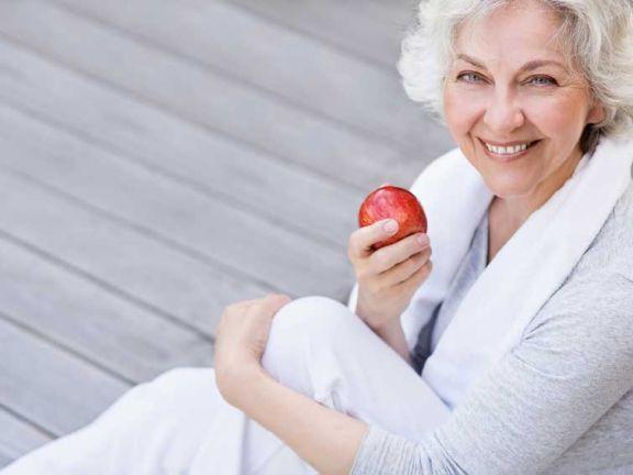 Diät zum Abnehmen 60-jährige Frau