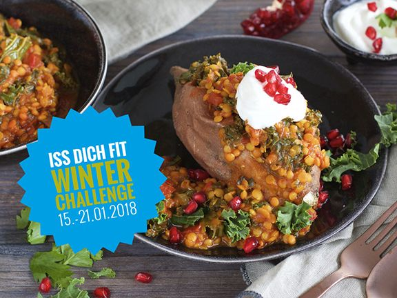 iss dich fit Challenge 2018
