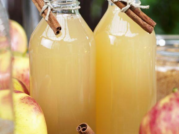 Äpfel haltbar machen – Apfelsaft