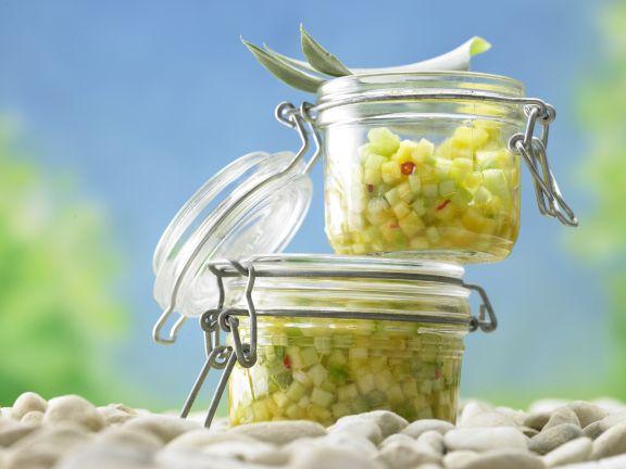 Ananas-Gurken-Salsa