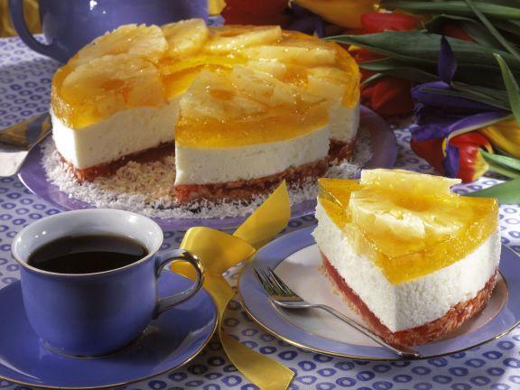Ananas-Käsekuchen