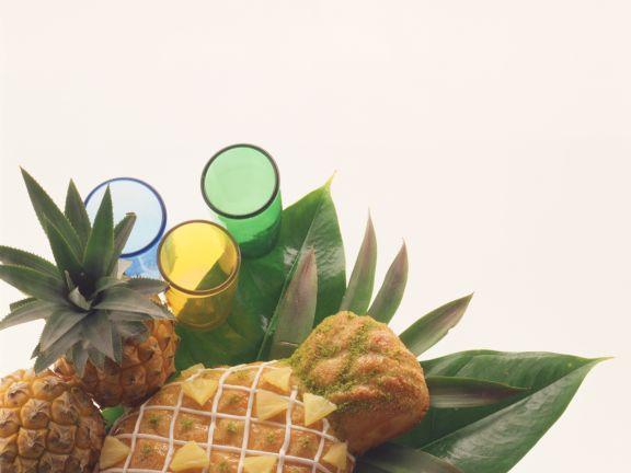Ananas Marzipan Kuchen Rezept Eat Smarter