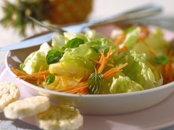 Ananas-Möhren-Salat