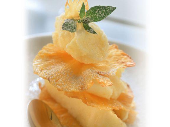 Ananas-Sorbet