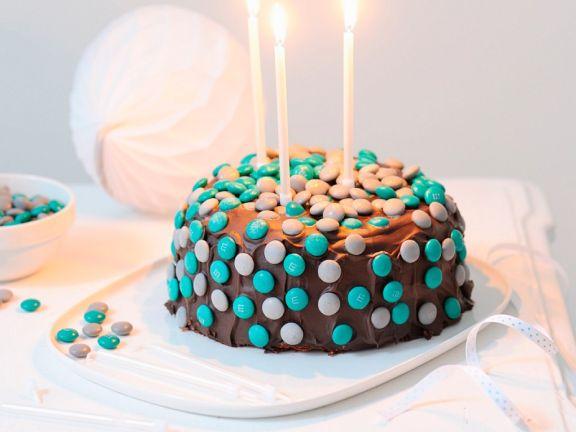 """""""Angel Cake"""" mit Schokolade und Schokolinsen"""