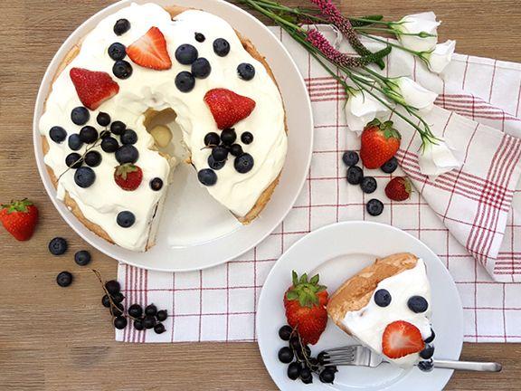 Angel Food Cake selber machen