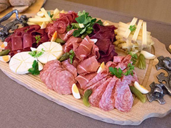 Einfach köstlich – ein Schweizer Apéro.