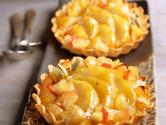 Apfel-Birnen-Tartes