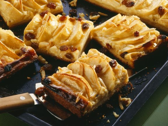 Apfel-Blechkuchen