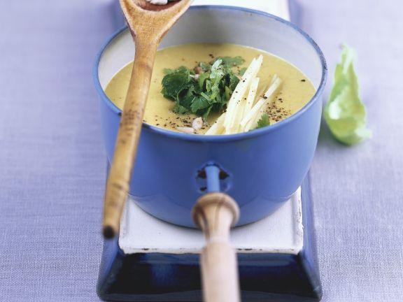 Apfel-Blumenkohl-Suppe