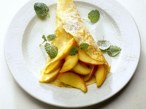 Apfel-Calvados-Crepes