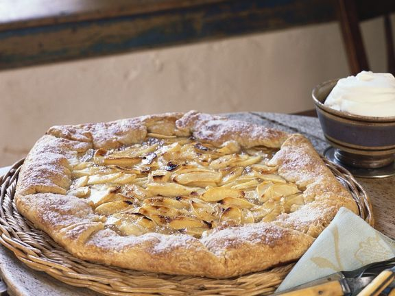 Apfel-Calvadoskuchen