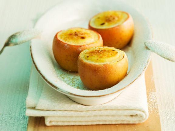Apfel-Crème Brûlée