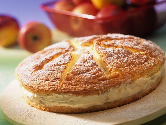 Apfel-Cremetorte