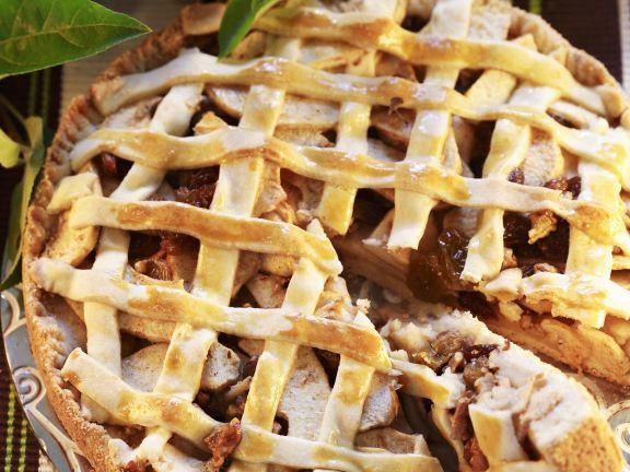 Apfel Ingwer Kuchen Mit Marzipangitter Rezept Eat Smarter