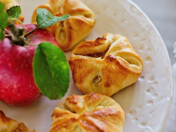 Apfel-Ingwer-Taschen