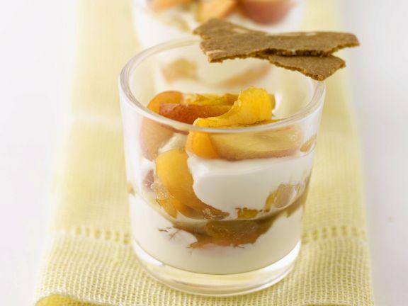 Apfel-Joghurt-Creme