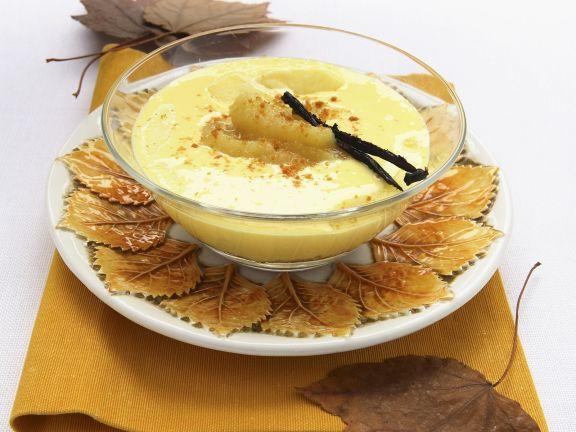 Apfel-Joghurt-Mousse