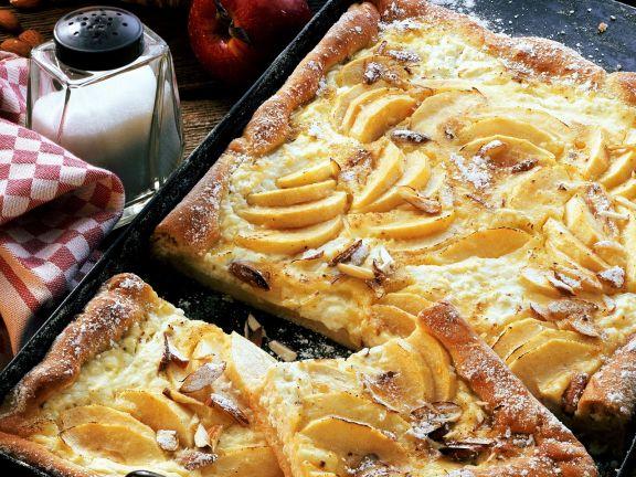 Apfel-Käse-Kuchen nach fränkischer Art