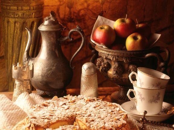 Apfel-Mandelkuchen