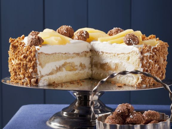 Apfel Mascarpone Torte Rezept Eat Smarter