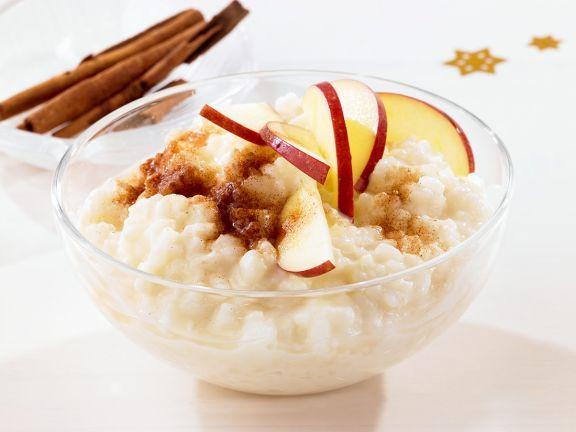 Apfel-Milchreis