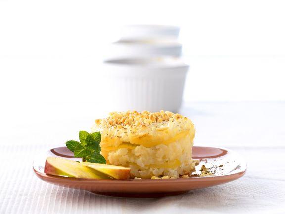 Apfel-Milchreis-Gratin