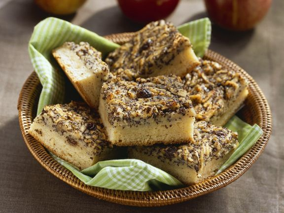 Apfel Mohn Blechkuchen Rezept Eat Smarter