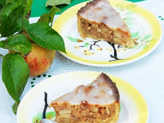 Apfel-Mürbteig-Kuchen